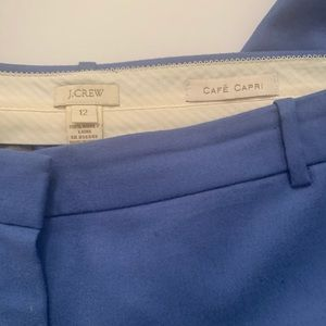 J Crew ankle length cuffed trousers